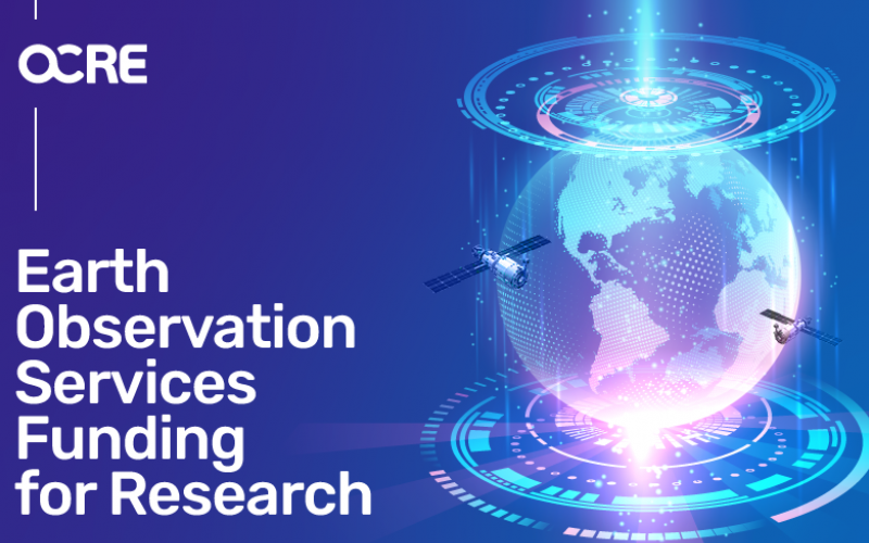 Would your research benefit from taking a good look at our planet? Explore Earth Observation funding opportunities with OCRE